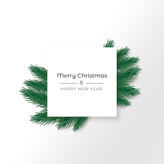 Realistischer weihnachtshintergrund