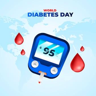 Realistischer weltdiabetestag