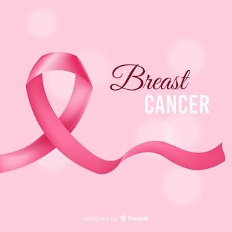 Realistisches brustkrebsband