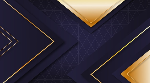 Realistisches elegantes geometrisches formhintergrunddesign