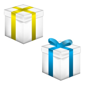 Realistisches geschenk 3d
