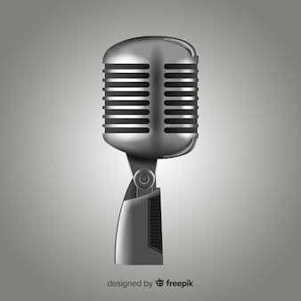Realistisches mikrofon