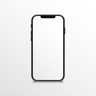 Realistisches mock up-mobiltelefon