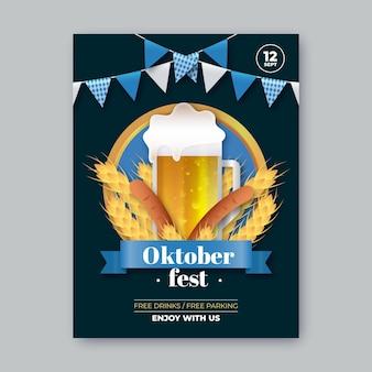 Realistisches oktoberfest festival