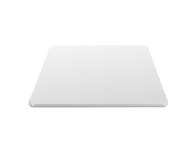 Realistisches quadratisches tischuntersetzer-mockup-set. quadratischer bierdeckel, bierdeckel isoliert auf weißem hintergrund mit schatten.