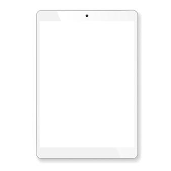 Realistisches tablet-modell für tragbare computer