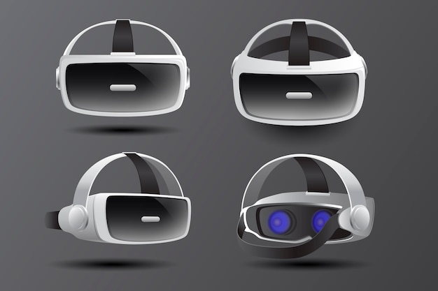 Realistisches virtual-reality-headset