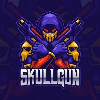 Reaper assassin esport logo gaming