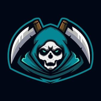 Reaper esport-logo-design-vorlage