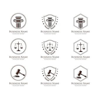 Recht und anwalt logo