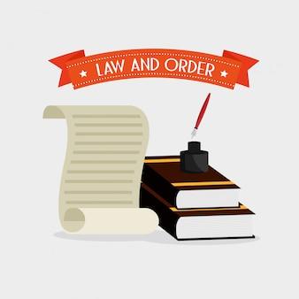 Recht und ordnung design