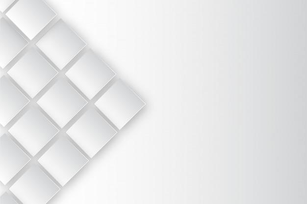 Rechteck-weiße hintergrund-schablone