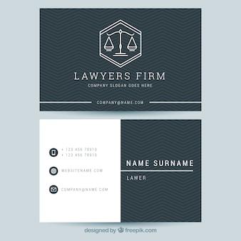 Rechtsanwalt kartenvorlage