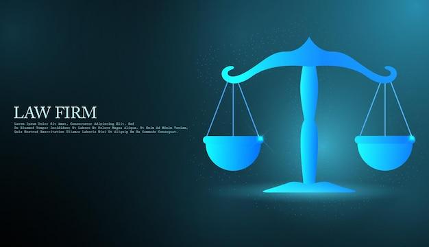 Rechtsberatungstechnologie-servicekonzept mit unternehmen, die mit modernem ui-computer arbeiten