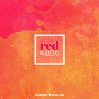 Red aquarell mit linien hintergrund