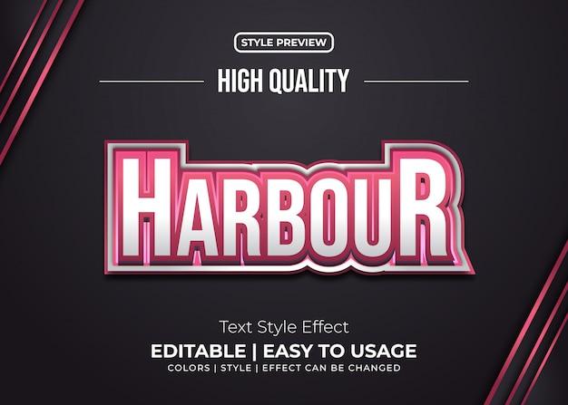 Red bold text style-effekt für die identität des spielteams