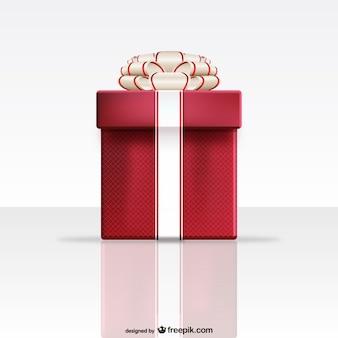 Red geschenk-box