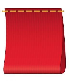 Red label für kleidung.