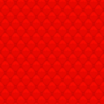 Red upholstery background