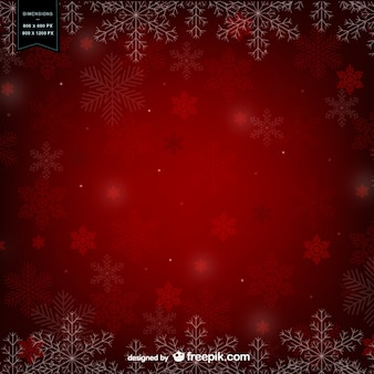 Red winter hintergrund