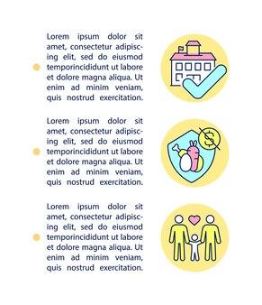 Reduzierter preis für schulmahlzeiten-konzeptzeilensymbole mit text
