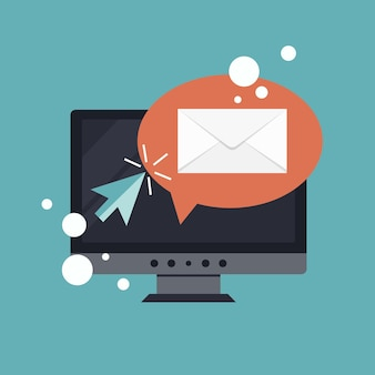 Regelmäßig verteilte nachrichtenveröffentlichung per e-mail