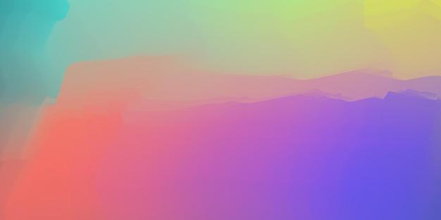 Regenbogen-acryl-malerei-künstlerischer textur-hintergrund Premium Vektoren