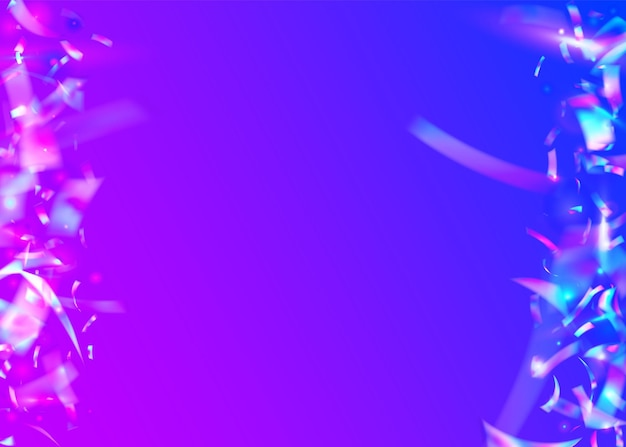 Regenbogen funkelt. retro realistischer farbverlauf. surreale kunst. geburtstag blendung. schillernder hintergrund. blauer party-glitter. digitale folie. unschärfe-banner. lila regenbogen funkelt