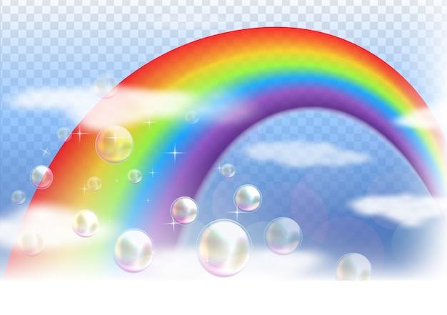 Regenbogen hintergrund