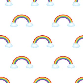 Regenbogen-muster. vektorgrafik auf lager.