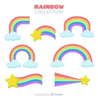 Regenbogen-sammlung