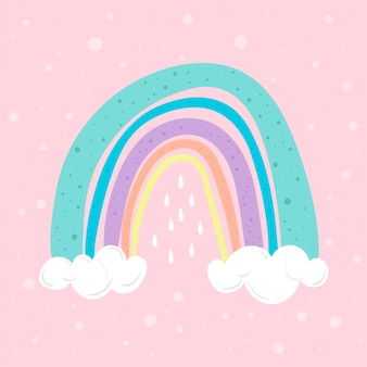 Regenbogenillustration