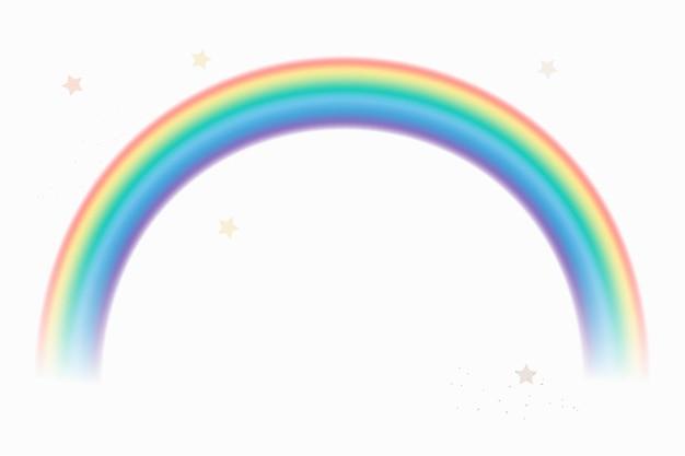 Regenbogenlichtkurvenelementvektor
