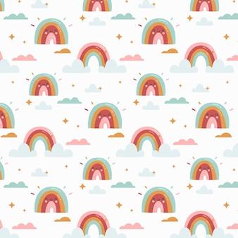 Regenbogenmuster-design