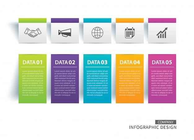 Registerkarte infografiken