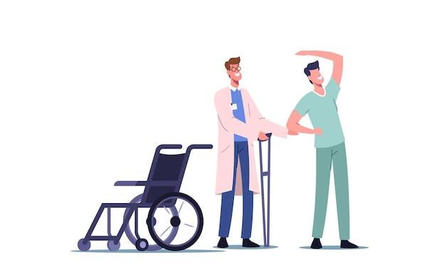 Rehabilitierende körperliche aktivität, orthopädische therapierehabilitation