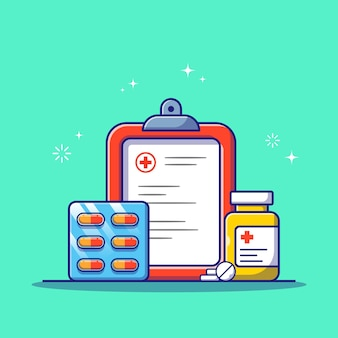 Reihe von arzneimitteln für die beratung und diagnose von medikamenten