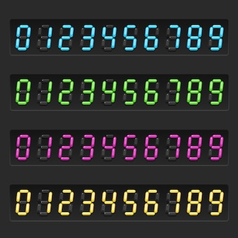 Reihe von elektronischen nummern