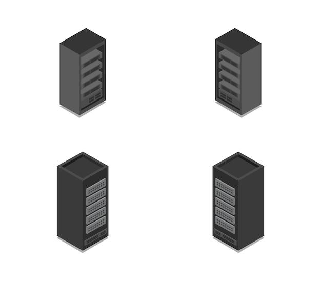 Reihe von isometrischen servern