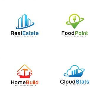Reihe von logos