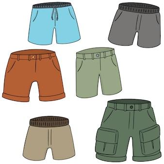 Reihe von Shorts