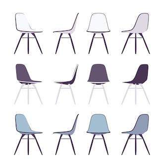 Reihe von stühlen