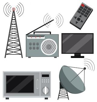 Reihe von technologiegeräten