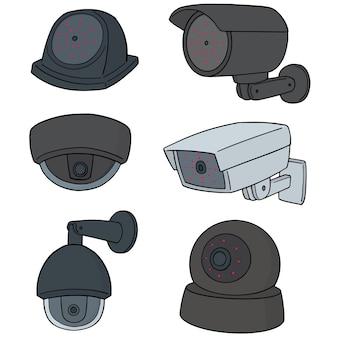Reihe von überwachungskameras