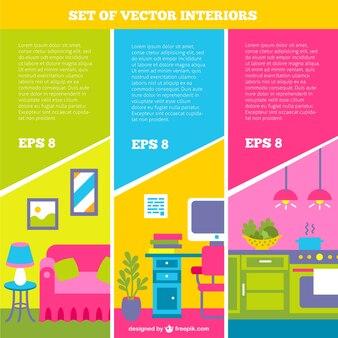 Reihe von vektor-interieur