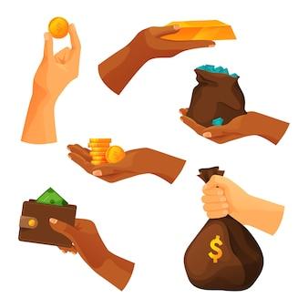 Reihe von zahlungen und finanzielle einsparungen