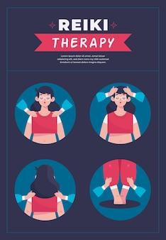 Reiki-therapie alternative gesundheitsmedizin