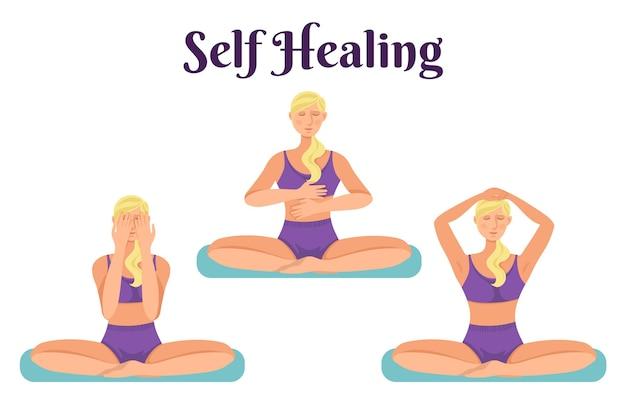 Reiki-therapiekonzept