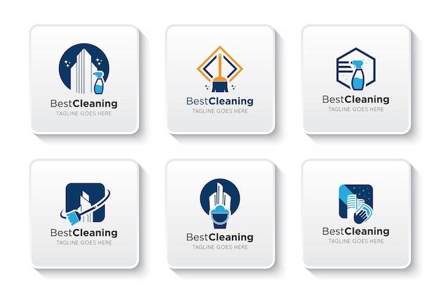 Reinigungs-logo und symbol festlegen