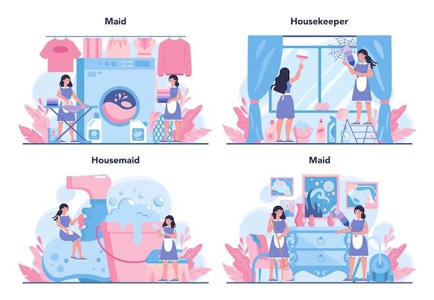 Reinigungsservice, reinigungsservice, apartment-reinigungsset